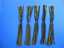 5 Silicone Skirts Cajun Crawfish 268-63-44 spinner bait bass lure jig fishing