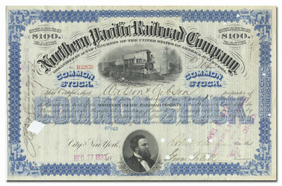 California Sacramento Northern Railroad Stock Certificate