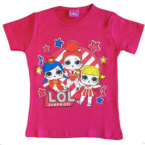 Other T-shirt Lol Surprise 4 Anni Maglietta Bambina