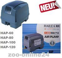 HAILEA Hi-Blow HAP-60;80;100;120;Aquarium-Teich-Kompressor-Sauerstoff-Luft-Pumpe