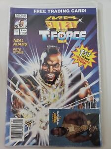 MR-T-AND-THE-T-FORCE-1-1993-NOW-COMICS-NEAL-ADAMS-POLYBAGGED-WITH-CARD-NM