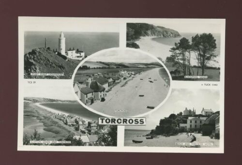Devon TORCROSS Lighthouse Mview c193050s? RP PPC by Tuck