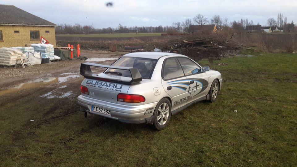 Subaru Impreza, 2,0 WRX, Benzin