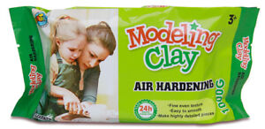 Air-Hardening-Modelling-Clay-1KG-AIR-DRY-CLAY-White-for-Art-Learner-Craft-Supply