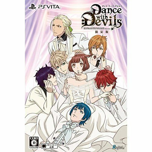New PS Vita Dance with Devils Limited Import Japan