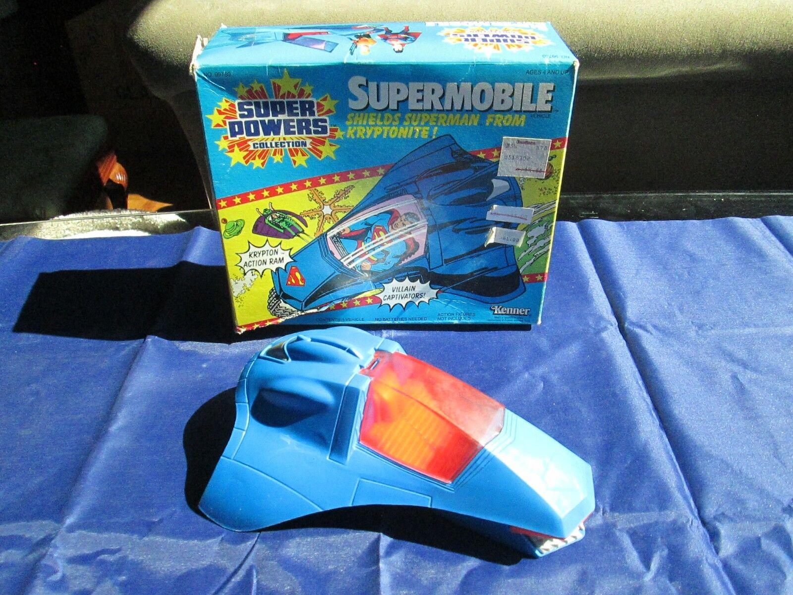 Vintage Super Powers Collection SUPERMOBILE