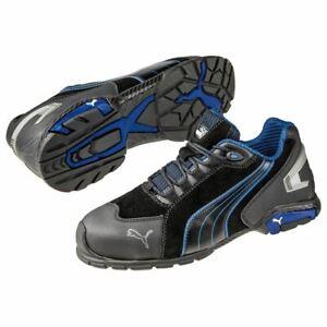 Puma-Safety-642755-RIO-Men-039-s-Black-Low-Aluminum-Toe-SD-Work-Shoes