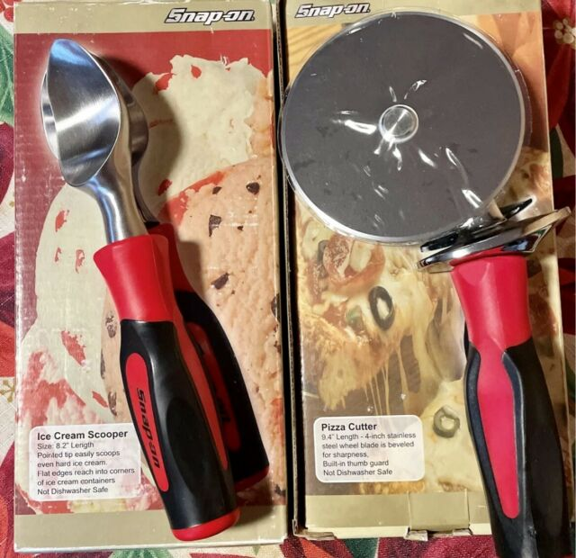 Snap On Tools Kitchen Pizza Cutter Ice Cream Scoop Set New For Sale Online