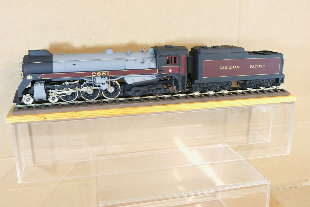 KTM KIT BUILT O O O SCALE CANADIAN PACIFIC CP 4-6-4 ROYAL HUDSON LOCO 2861 nk c1e2a8