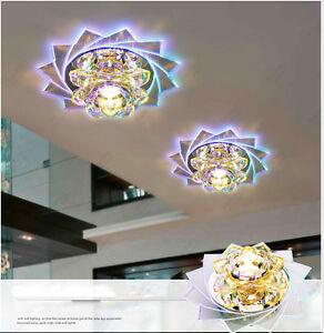 modern 3w 5w led kristall decken lampen kronleuchter bunt gang lichter 4238hc ebay. Black Bedroom Furniture Sets. Home Design Ideas