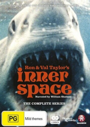 1 of 1 - Inner Space - The Complete Series (DVD, 2012, 2-Disc Set) REGION 4 - Brand New
