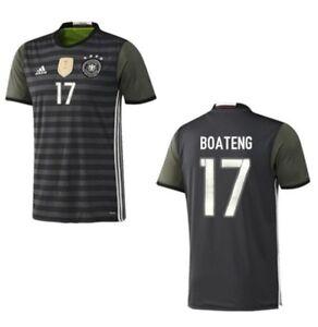 Details zu Trikot Adidas DFB 2016 2018 Away Boateng 17 [128 bis XXL] Deutschland