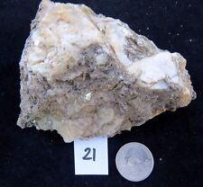 PEGMATITE: FELDSPAR MICROCLINE, MICA MUSCOVITE & QUARTZ, 446 GR ( 21,19)