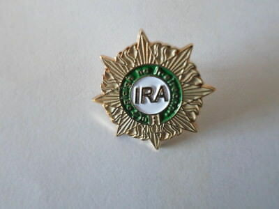 15 x 9 mm Ireland Irish L011 Enamel Metal Lapel Pin