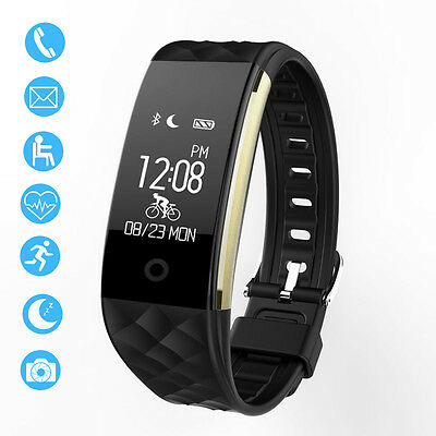 Wasserdicht S2 Herzfrequenz -GPS-Smart-Armband-Uhrenarmband -Fitness Tracker