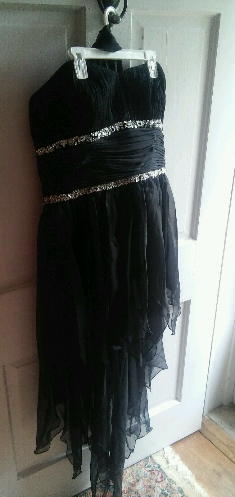 000 Long and Short High Low Prom Formal Evening Short Dress Strapless Dress