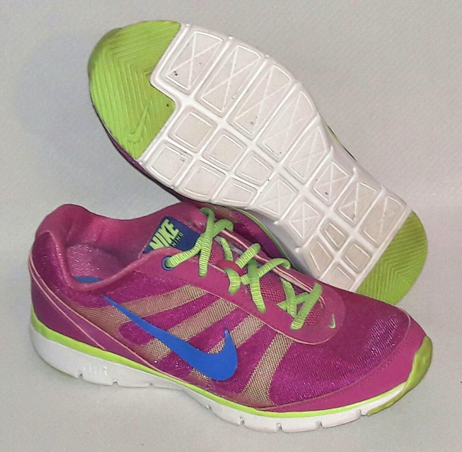 nike air donne sz 7 formazione scarpe da corsa 4488111 4488111 4488111 totale nucleo blu giallorosa 556e06