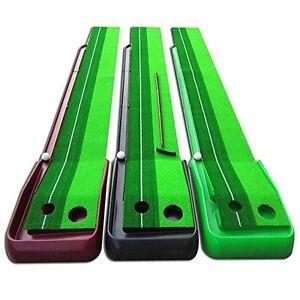 Accelerator Pro Ball Return Golf Putting Green Mat Green Practice ...