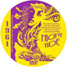 "Night Tide (1961) Horror and Mystery ""B"" NR CULT Movie DVD"