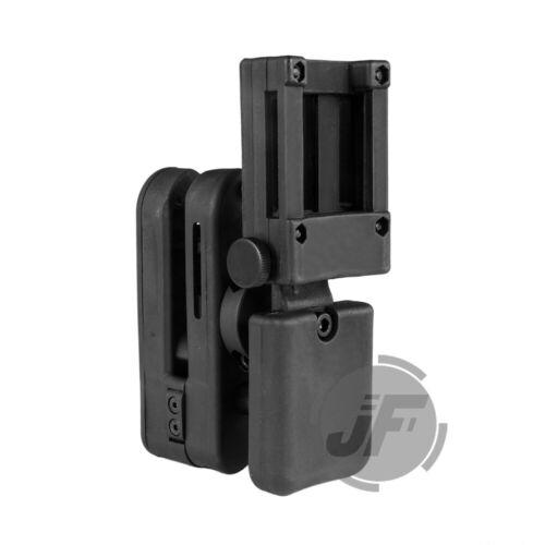 4x Magazine Pouches IPSC USPSA 3-Gun Competition Belt GR Pistol Gun Holster