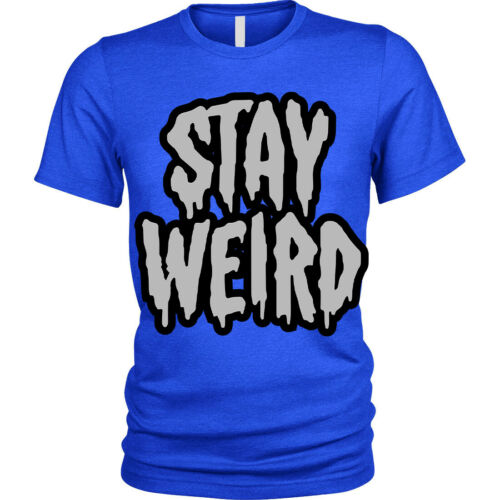 Kids Boys Girls Stay Weird T-Shirt funny goth emo different