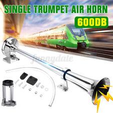 600db Super Loud Air Horn Compressor Single Trumpet Train Car Truck Boat