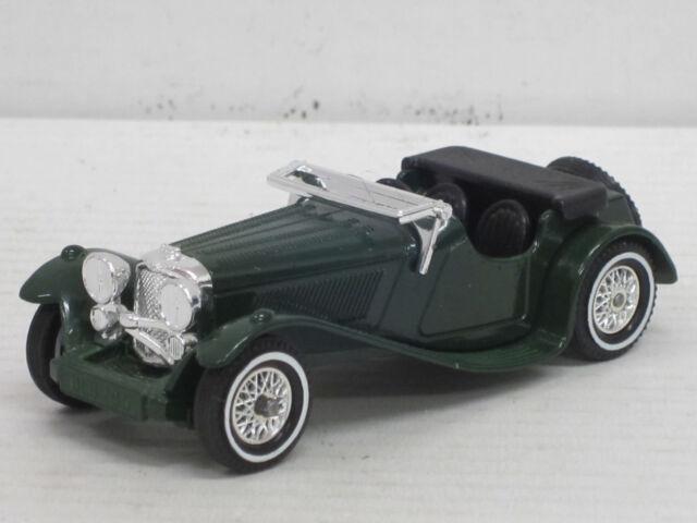 Jaguar SS 100 in dunkelgrün, Matchbox, 1:43 ??, ohne OVP