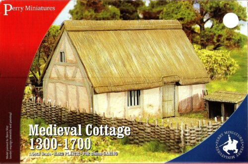 Perry Medieval cottage 13001700 28mm
