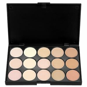 15-Colors-Makeup-Concealer-Palette-Cream-Contour-Kit-Blemish-Face-Highlighter