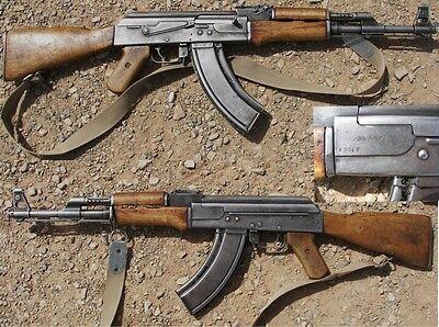 *HUGE Color Poster Soviet Russian USSR AKM AK-47 7.62 Kalashnikov CAVE BUY NOW!!