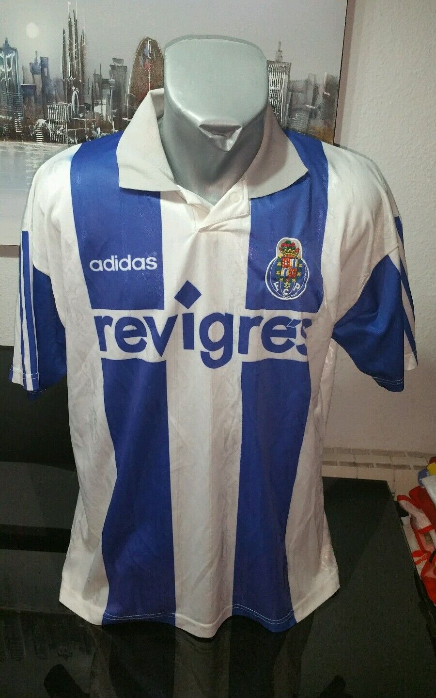 Jersey vintage t-shirt adidas fc. porto Taille xl