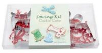 Sewing Theme Cookie Cutters Gift Set Quilting Sewing Christmas Gift Cookies