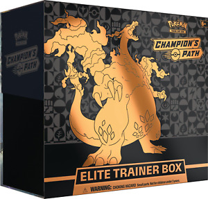 Pokemon TCG Champion's Path Elite Trainer Box NEW FACTORY SEALED SHIPS 9/25