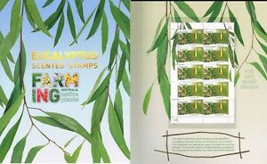 2011-Farming-Australia-Eucalyptus-Scented-Stamps-Rub-amp-Smell-Post-Office-Pack