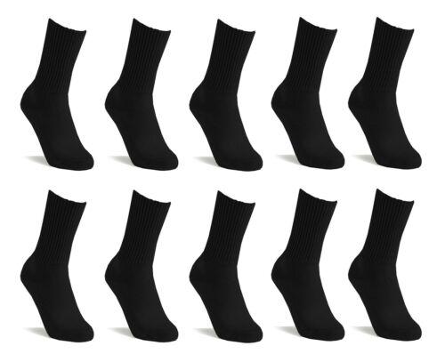 10 x Mens Black Weed Cannabis Design Designer Cotton Socks Winter Sports,Work,