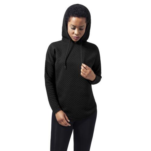 Urban Classics Damen Oversize Stepp Hoodie TB1323 Kapuze Pullover Sweater Hoody