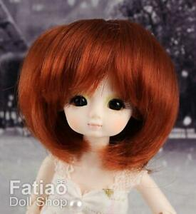 New-Dollfie-Bisou-AI-Little-DAL-Pullip-1-12-BJD-4-5-034-Carrot-Doll-Wig