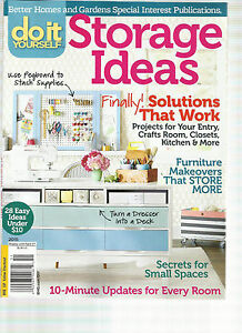 Do it yourself issue 2015 storage ideas finally solutions that image is loading do it yourself issue 2015 storage ideas finally solutioingenieria Gallery