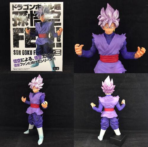 Dragon Ball Goku purple hair stand PVC figure figures doll dolls anime toy new
