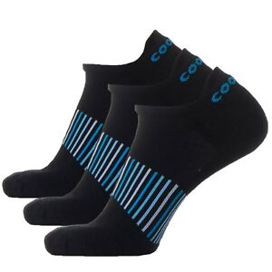 Coolmax Men Trainer Sock Quick Dry Athletic Low Cut Sports Running Ankle 3 pairs