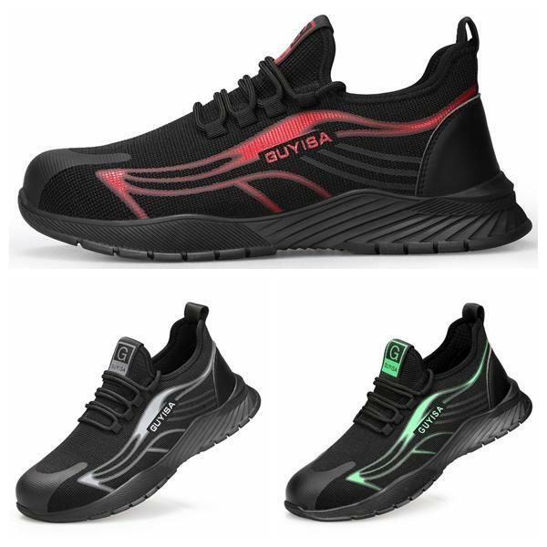 Breathable Safety Shoes Trainers Steel Toe Cap Sport Hiking Work Boots Men Women