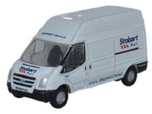 Oxford NFT010 Ford Transit LWB Eddie Stobart 1 148 148 148 (N Gauge) New in Case T48Post d1c1f0