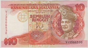 Mazuma *M1206 Malaysia 6th $10 VJ3506530 UNC