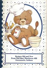 *GREENCASTLE IN 1993 WAL-MART WAREHOUSE #22 STAFF COOK BOOK *RECIPES OLD & NEW