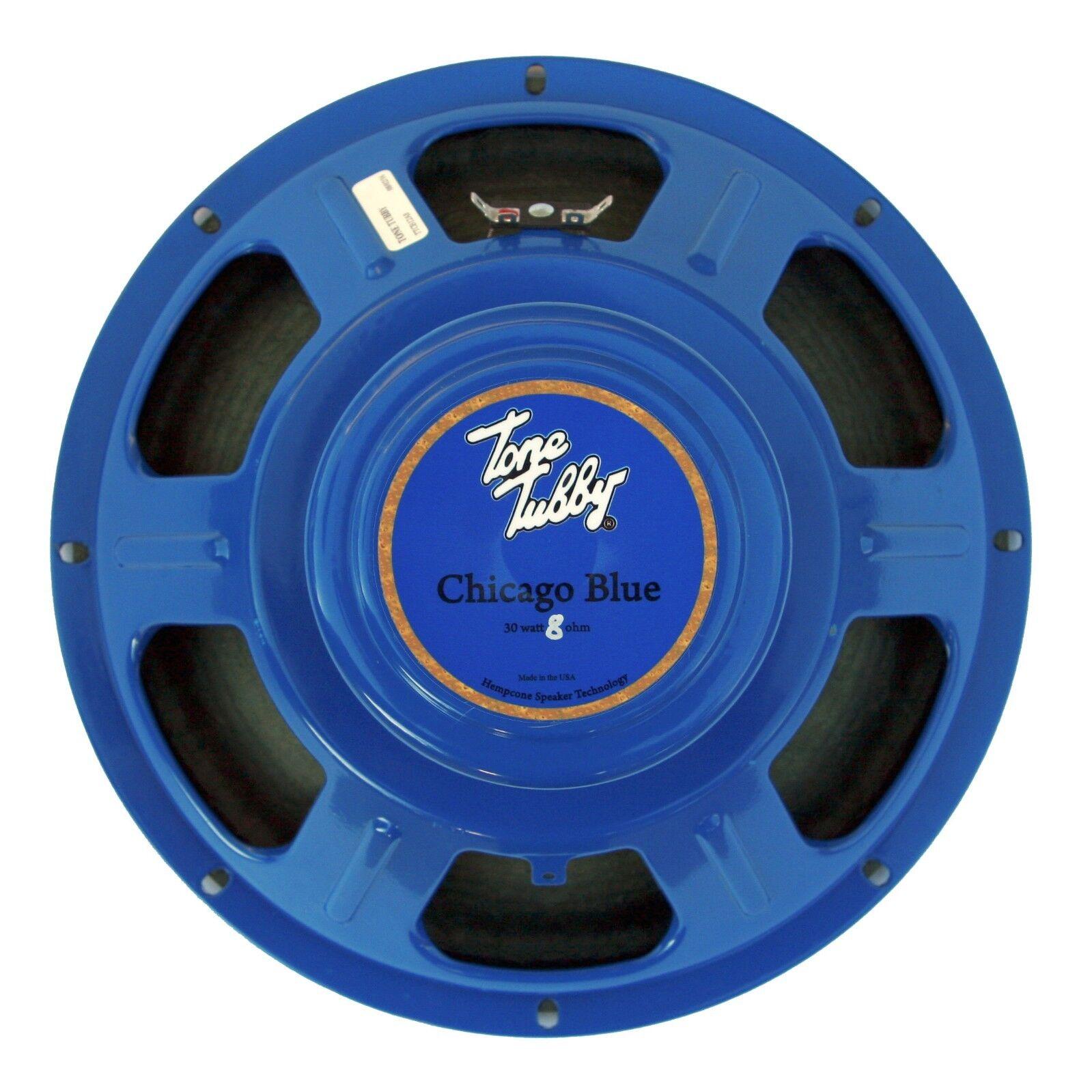 Tone Tubby 12   cago Blau Alnico Hemp Cone Guitar Speaker 8 ohm NEW
