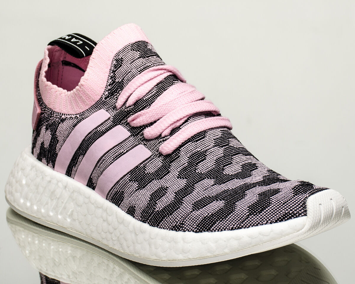 Adidas Originals WMNS NMD R2 Primeknit women lifestyle sneakers pink BY9521