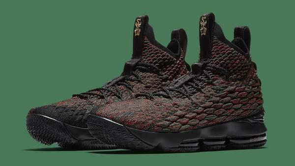 Nike lebron 15 15 15 xv lmtd bhm größe 14.schwarz history month multi - farbe 897650-900 e52678
