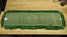 Green Microfiber Dry Dust Mop 5 X 24 Mfd245g Fsp 6 Pack
