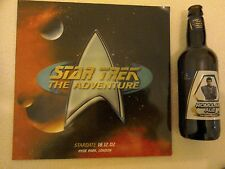 Star Trek The Adventure Stardate 18.12.02 Hyde park London and bottle