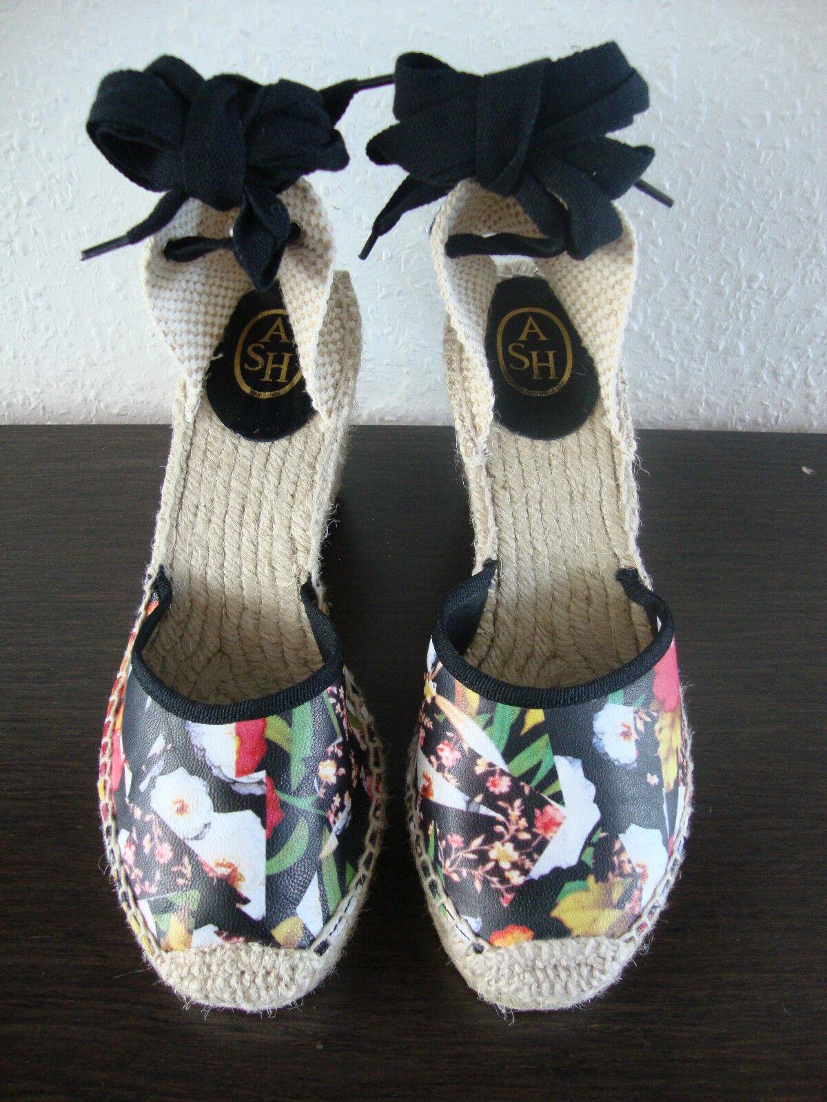 Ash Wanda Zeppa Sandals Scarpe in in in pelle sandali da donna Sandali Tg. 37 NUOVO f02b3a